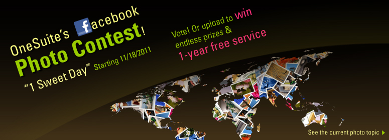 Enter to win! OneSuite's facebook photo contest