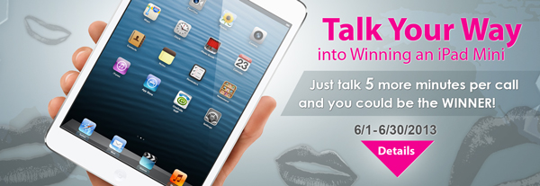 Talk your way into winning an iPad Mini